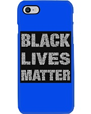 BLACK LIVES MATTER IS AS SERIOUS AS CANCER Phone Case thumbnail