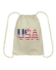 ALL LIVES MATTER IN THE USA Drawstring Bag thumbnail