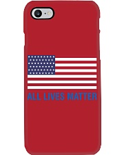 ALL LIVES MATTER IN THE USA Phone Case thumbnail
