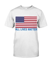 ALL LIVES MATTER IN THE USA Classic T-Shirt thumbnail