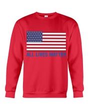ALL LIVES MATTER IN THE USA Crewneck Sweatshirt thumbnail