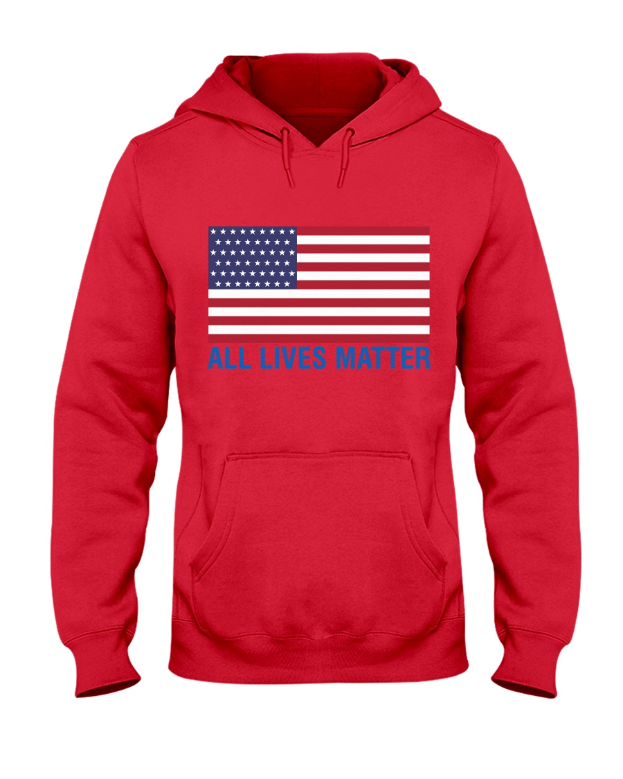 ALL LIVES MATTER IN THE USA Hooded Sweatshirt