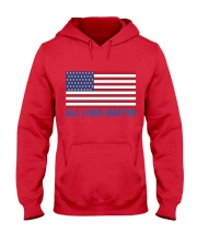 ALL LIVES MATTER IN THE USA Hooded Sweatshirt front
