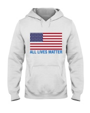 ALL LIVES MATTER IN THE USA Hooded Sweatshirt tile