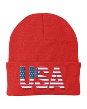 ALL LIVES MATTER IN THE USA Knit Beanie thumbnail