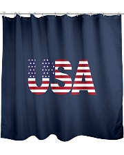 ALL LIVES MATTER IN THE USA Shower Curtain thumbnail