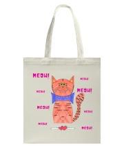 Meow meow meow Tote Bag thumbnail