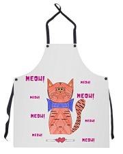 Meow meow meow Apron thumbnail