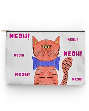 Meow meow meow Accessory Pouch - Large thumbnail