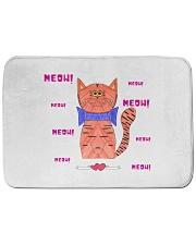 """Meow meow meow Bath Mat - 24"""" x 17"""" thumbnail"""