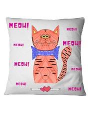 Meow meow meow Square Pillowcase thumbnail