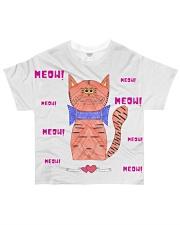 Meow meow meow All-over T-Shirt thumbnail