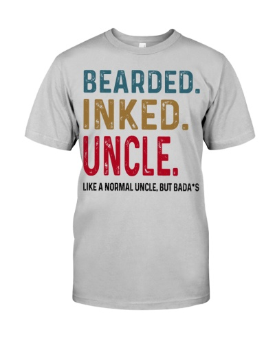 Bearded Inked Uncle Like Normal Dad But Badass