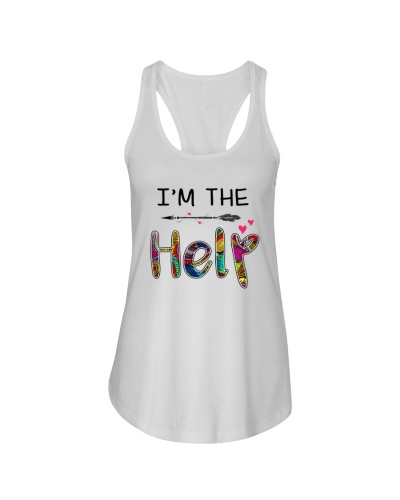 I'm the help bestie floral