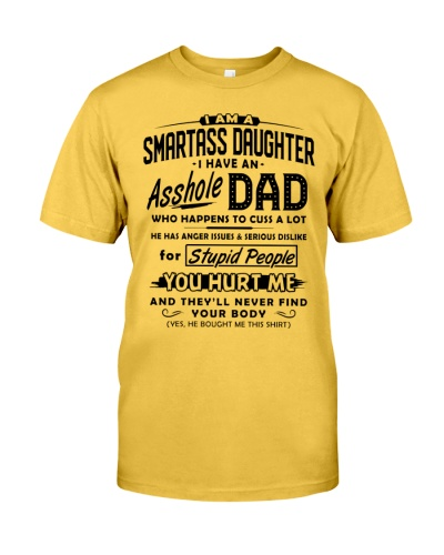 I have a as-hole dad funny father's day