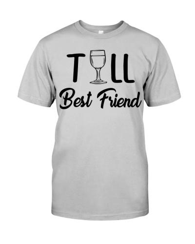 Short Tall Best Friend T Shirts