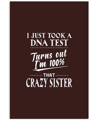 I just took a DNA test turn out sister