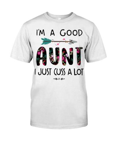 I am a good aunt -white