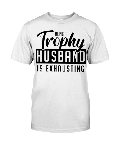 Being a Trophy Husband Is Exhausting