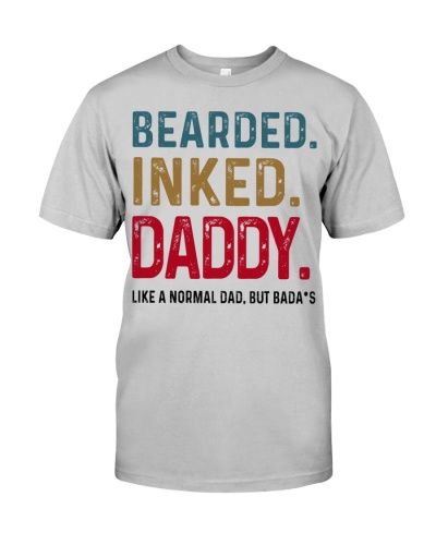 Bearded Inked Daddy Like Normal Dad But Badass