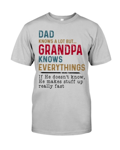 Dad knows a lot but Grandpa knows everything