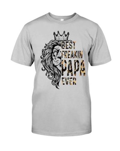 Best Freakin Papa Ever Shirt Freaking Papa Gift