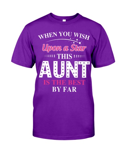 When you wish upon a star this aunt is the best