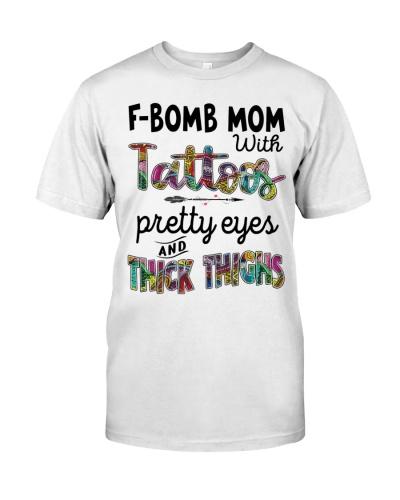 F Bomb mom with tattoos