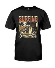 Surfing Paradise T-shirt Classic T-Shirt thumbnail
