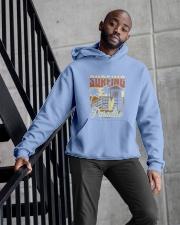 Surfing Paradise T-shirt Hooded Sweatshirt apparel-hooded-sweatshirt-lifestyle-front-10