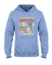 Surfing Paradise T-shirt Hooded Sweatshirt front