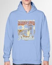 Surfing Paradise T-shirt Hooded Sweatshirt garment-hooded-sweatshirt-front-04
