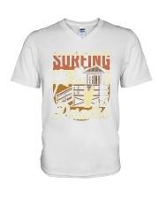 Surfing Paradise T-shirt V-Neck T-Shirt thumbnail