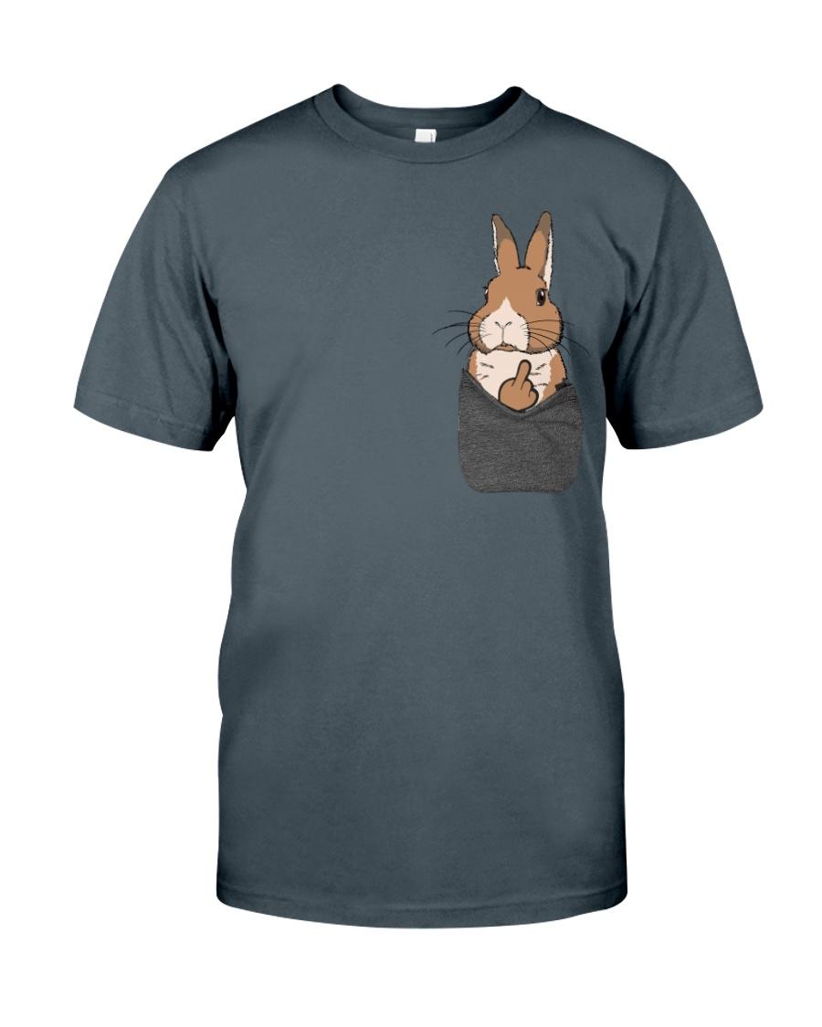 Funny Bunny Shirt Classic T-Shirt