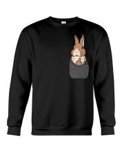 Funny Bunny Shirt Crewneck Sweatshirt thumbnail