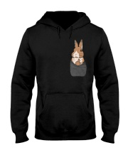 Funny Bunny Shirt Hooded Sweatshirt thumbnail