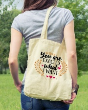 You Are Exactly What I Want - Valentine Tote Bag lifestyle-totebag-front-5