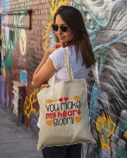 You Make My Heart Bloom  Tote Bag lifestyle-totebag-front-1