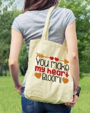 You Make My Heart Bloom  Tote Bag lifestyle-totebag-front-5