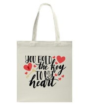 You Hold The Key To My Heart Tote Bag back