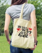 You Hold The Key To My Heart Tote Bag lifestyle-totebag-front-5