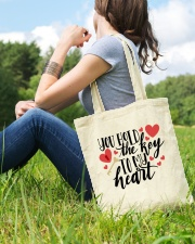 You Hold The Key To My Heart Tote Bag lifestyle-totebag-front-6