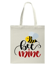 Bee mine - Valentines Day Tote Bag front