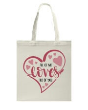 All Of Me Loves All Of You - Valentines Day Tote Bag front