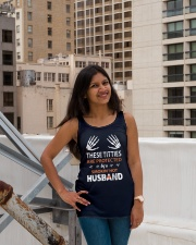 Wife Shirts For Husbands - wifey t shirts Ladies Flowy Tank lifestyle-bellaflowy-tank-front-3