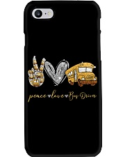 Bus Driver Peace Love Phone Case thumbnail