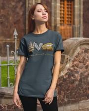 Bus Driver Peace Love Classic T-Shirt apparel-classic-tshirt-lifestyle-06