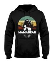 Mama Bear Hooded Sweatshirt front