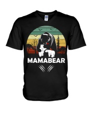 Mama Bear V-Neck T-Shirt thumbnail