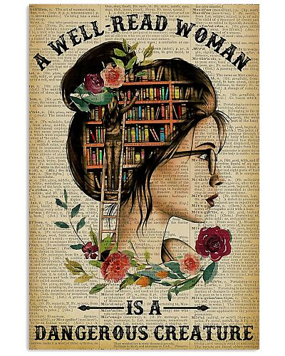 Reading A Well-Read Woman Poster